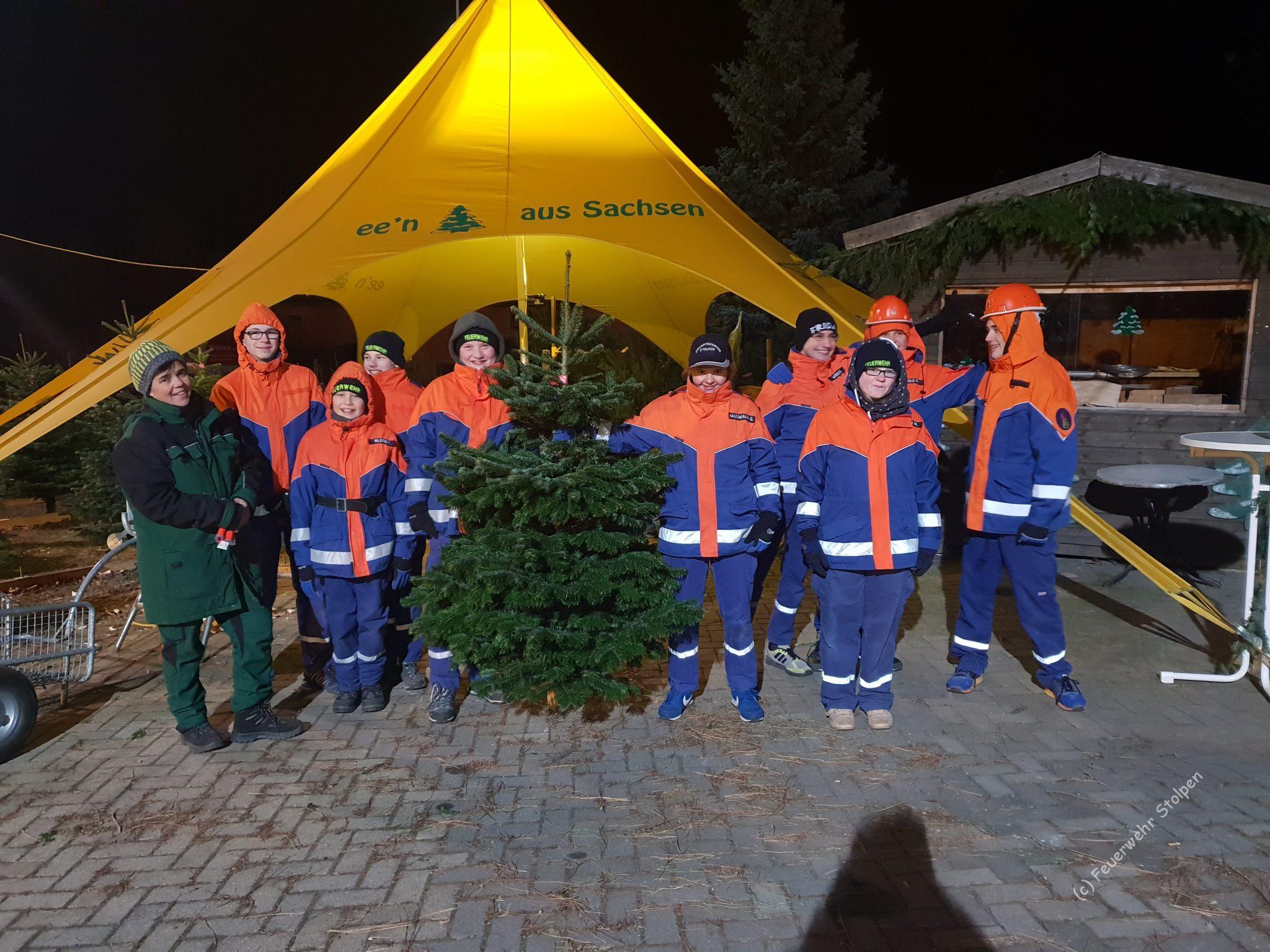 Weihnachtsbaum Fun.Weihnachtsbaum Holen 2018 Freiwillige Feuerwehr Stolpen